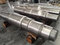 Main Shafts for jaw- and gyratory crusher