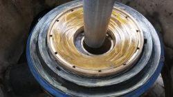 Pose de paliers neufs concasseurs giratoires Symons