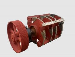 Rotor for impact mill